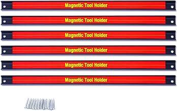 Goplus® 6adet 45,7cm alet tutucusu manyetik bar Organizer, Storage çatı bıçak anahtar Microringen