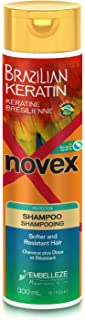 Novex Queratina Brasileña Champú - 300 ml.