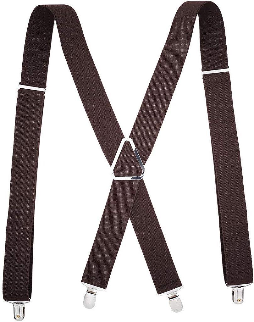 lotus.flower Unisex Women Men Braces X-Back 3.5cm Wide Solid Straight Clasps Suspenders Adjustable,47.2x1.4