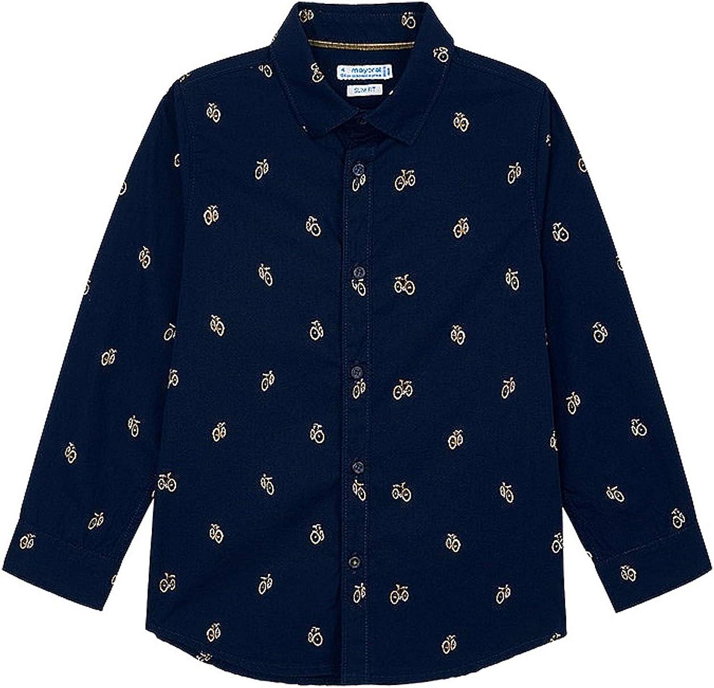 Mayoral - L/s Shirt for Boys - 4141, Blue