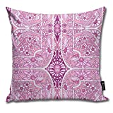 Beauty-Design Time to Buy More - Funda de Almohada antihistamínico para sofá o Sala de Estar Decorativa de 45,7 x 45,7 cm