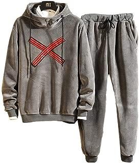 Hoodies for Men Pullover Active Lightweight Fleece Sweatshirt with Kangaroo Pocket Athletic Sportswear