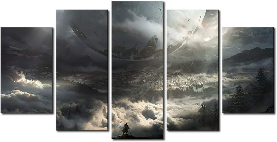 Yansang Modular Pictures Wall Art Prints 2 Destiny 5 OFFicial shop Game Sales results No. 1 Pieces