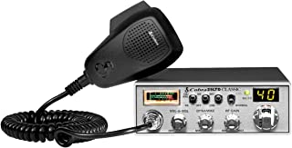Cobra 25LTD Professional CB Radio - Instant Channel 9, 4 Watt Output, Full 40 Channels, 9 Foot Cord, 4 Pin Connector