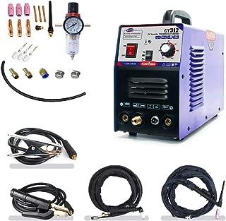 TIG/MMA Air Plasma Cutter - Tosense CT312 3 in 1 Combo Welding Machine,120A TIG/MMA, 30A ARC Plasma Cutter Dual Voltage 220V/110V