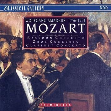 Mozart: Bassoon Concerto, Oboe Concerot, Clarinet Concerto