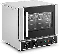 Royal Catering Mini Four À Convection Électrique Professionnel Multifonction Air Chaud Non Encastrable Posable RC-412M (2...