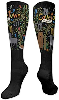 Medlin The Monkees Unisex Calcetines Hasta la rodilla Calcetines velty Crew Athletic Long Socks Gift