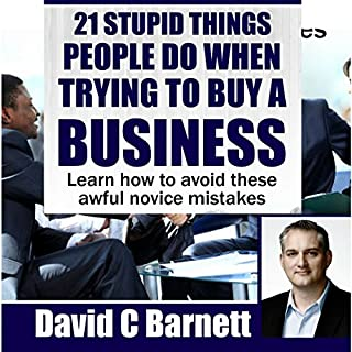 21 Stupid Things People Do When Trying to Buy a Business audiobook cover art