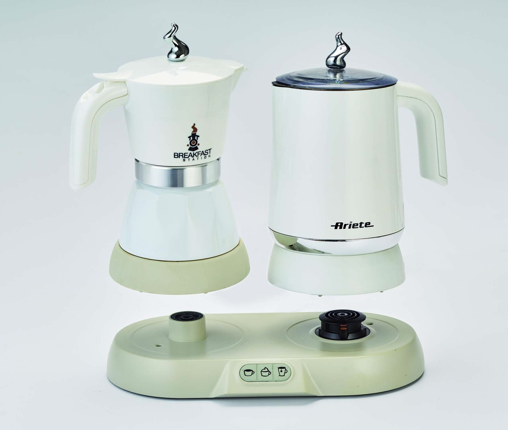 Ariete 1344 Independiente - Cafetera (Independiente, Cafetera moka eléctrica, 0,25 L, 500 W, Blanco): Amazon.es: Hogar