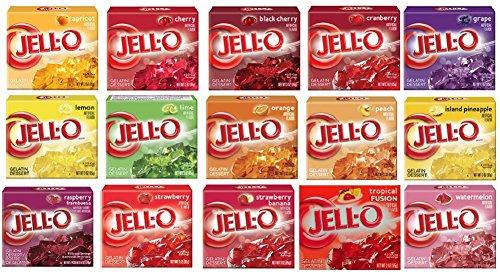 Jell-O Gelatin Sampler