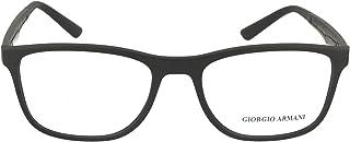 Emporio Armani - Armani 0AR7187 Gafas, MATTE BLACK, 55 para Hombre