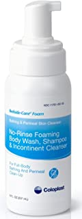 Coloplast Bedside Care Foam No Rinse Full Body Wash/Shampoo - Case of 12 - Model 7145