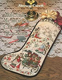 Yuletide Memories Christmas Stocking (Leaflet 81) Cross Stitch Chart and Free Embellishment