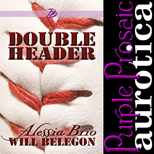 Double Header audiobook cover art