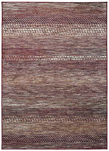 HomeRug Alfombra Belga Textura Rojo 70X220cm