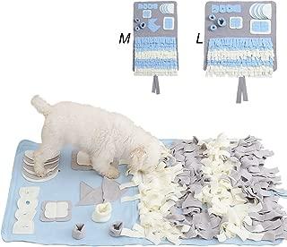 DIFFLIFE Snuffle Mat Nosework Blanket Dog Training Mats Dog Feeding Mat Pet Activity Mat Great for Stress Release (M)