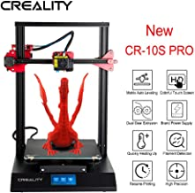 Creality CR-10S PRO 3D Printer with 9 Upgrade Functions,Auto Leveling,Touch Screen,Dual Gear Extrusion,Capricorn Teflon Tube,Filament Detection,Resume Printing,V2.4.1 Motherboad,11.8×11.8×15.7in