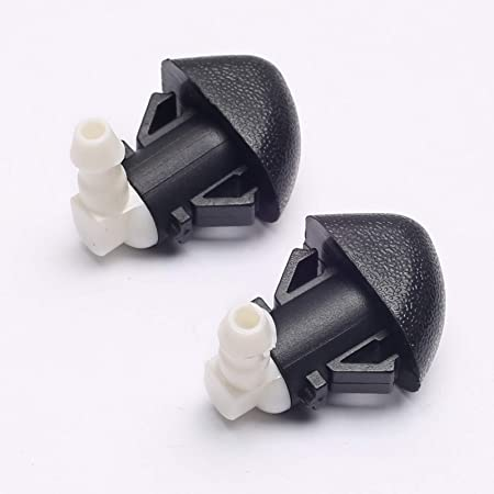 Hood Wiper Fluid Nozzle P//N 76810SZAA01ZA 76810-SZA-A01ZA Direct Replacement for Honda Pilot 2009 2010 2011 2012 2013 2014 2015 Front Windshield Washer Nozzle Assembly