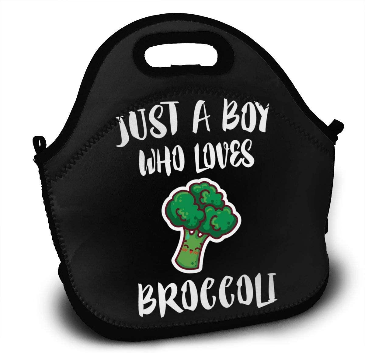 Iop 90p Just A Boy Who Lovers Brocoli Reutilizable Lunch Tote ...