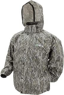 INVACHI Mens Pullover Hooded Windbreaker Half Zip Waterproof Rain Jacket Lightweight Raincoat