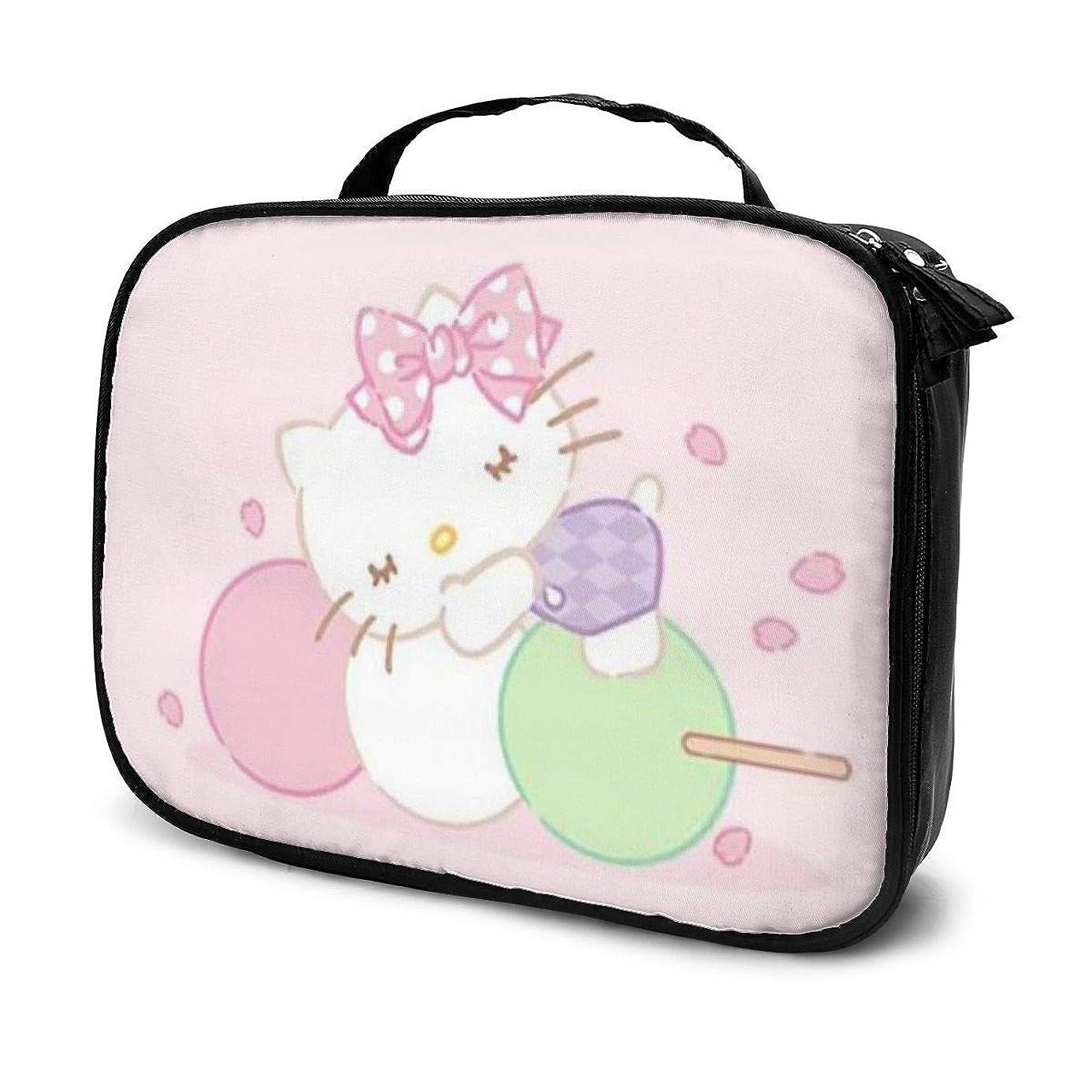 主張を必要としていますディレクターDaituハローキティとシュガー 化粧品袋の女性旅行バッグ収納大容量防水アクセサリー旅行