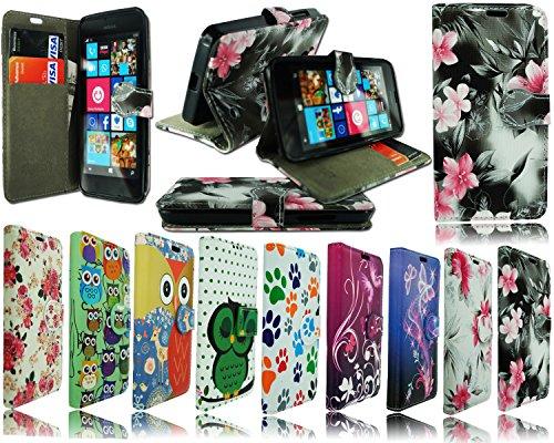 NEU Leder Flip Wallet Schutzhülle Handy Tasche für Samsung Galaxy Ace Style G310