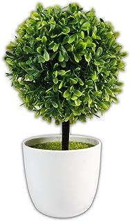 Ficus Elastica Pianta Fichi Albero con Vaso YQing 70cm Ficus Lyrata Artificiale Ficus Benjamin Bonsai per Casa Ufficio Decorazione