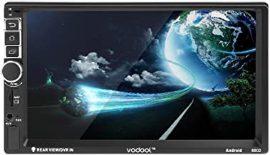VODOOL 7in Touch Screen 2Din Android Bluetooth Car GPS Navigator MP5 Player