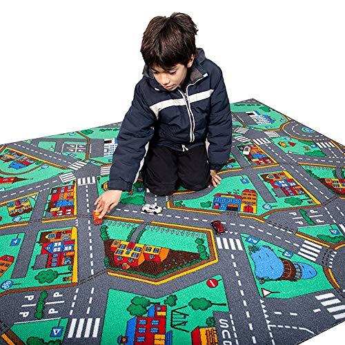 Kid Tapis D'éveil Circuit Géant 240x160cm