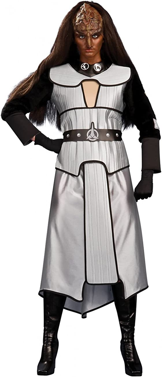 Ranking TOP5 Max 45% OFF Rubie's Women's Deluxe Klingon Costume Standard Female