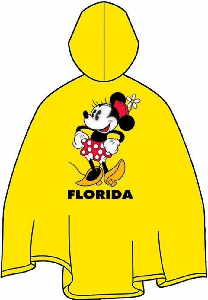 Disney Minnie Mouse Youth Rain Poncho
