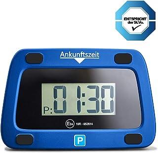 achilles parkeerwacht digitale parkeerschijf voldoet aan de verkeersregels elektronische parkeermeter voor de auto 111 x 7...