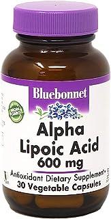 BLUEBONNET NUTRITION ALPHA LIPOIC ACID 600 mg