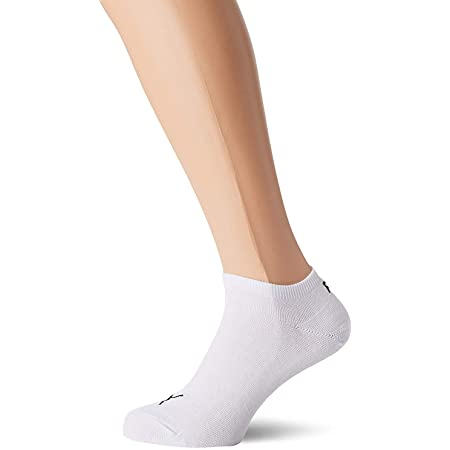 Puma Sportive Sneaker Sock Pack of 3, White, 6 - 8 UK (39-42 EU)
