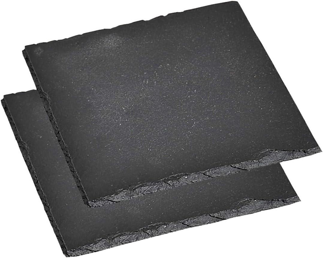 Schieferplatte 40x30 cm Kesper Buffet Platte Schiefer Tischset Deko Geschirr