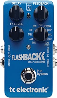 TC Electronic FlashBack Delay and Looper Guitar Delay Effect Pedal