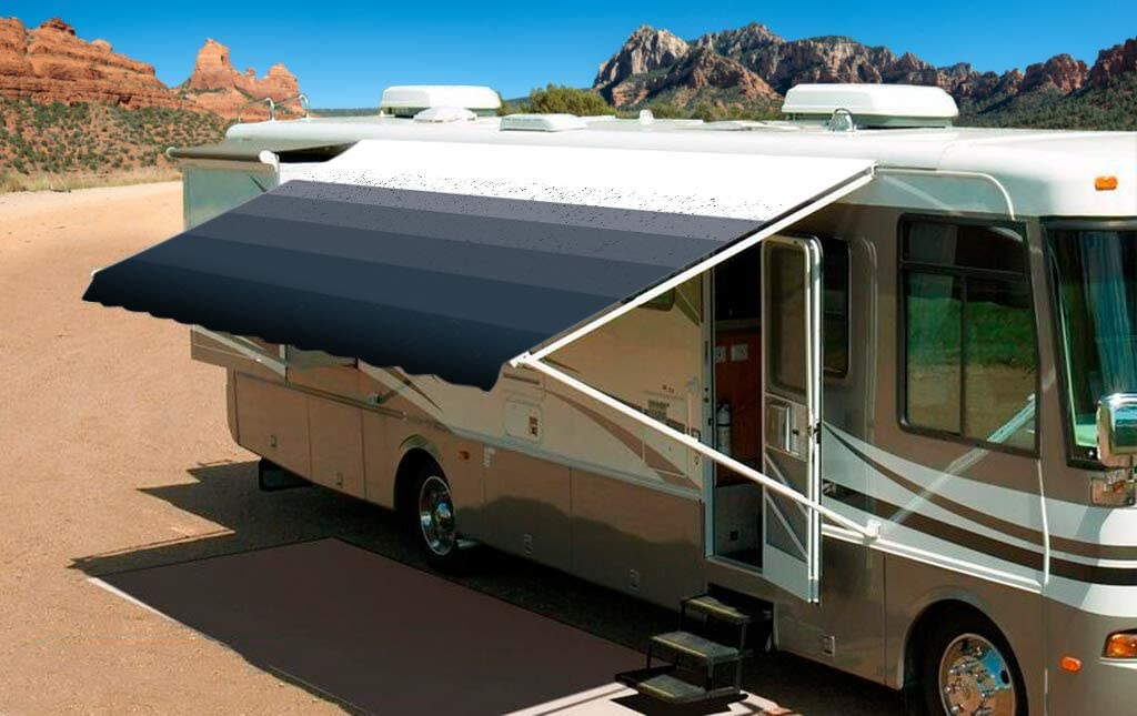 Shade Pro RV Awning Fabric Replacement Duty Al sold out. Fa 21' Heavy Vinyl OFFicial