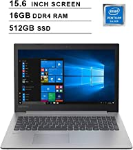 2020 NexiGo IdeaPad 330 15.6 Inch Business Laptop| Intel 4-Core Pentium N5000 up to 2.7GHz| 16GB DDR4 RAM| 512GB SSD| Intel UHD 605| DVD| HDMI| Bluetooth| WiFi| Windows 10 Home