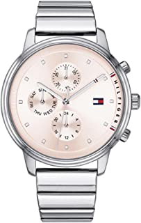 Tommy Hilfiger Blake Women's Pink Dial Stainless Steel Band Watch - 1781904