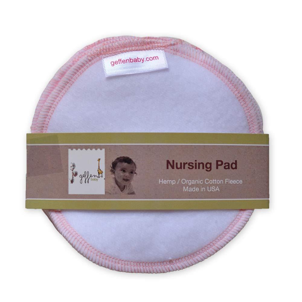 Geffen Baby Reusable Ranking TOP17 [Alternative dealer] Nursing Pads Hemp 3 Cotton Fleece P Organic