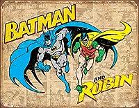 バットマンとロビン風化ティンサイン