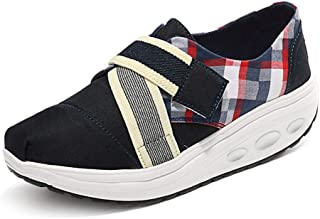 Unparalleled beauty Women's Wedge Shoes Sport Sneakers Lightweight Athletic Non Slip Driving Loafers