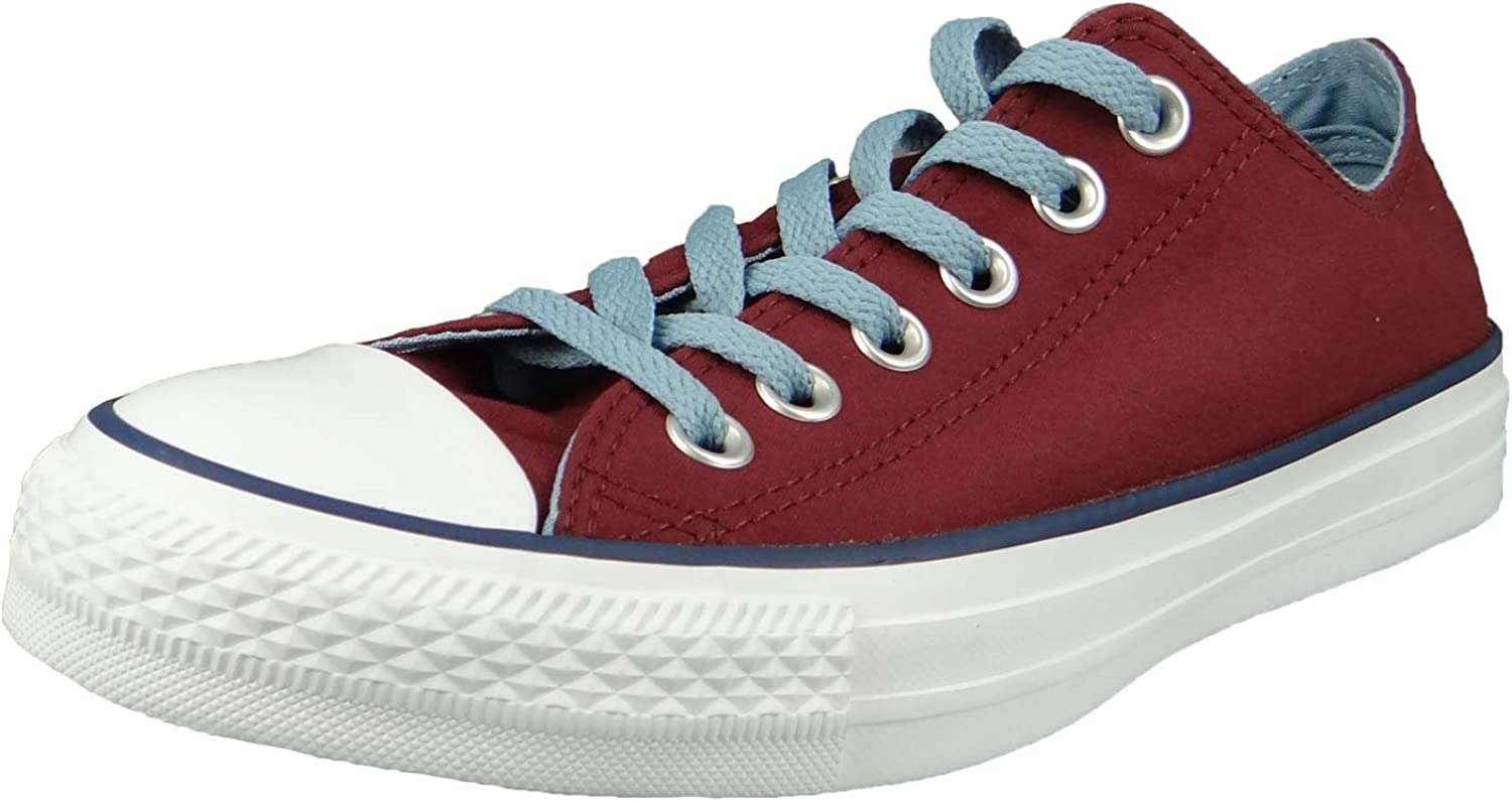 Converse Men's CT All Star Ox Canvas Trainers, Red
