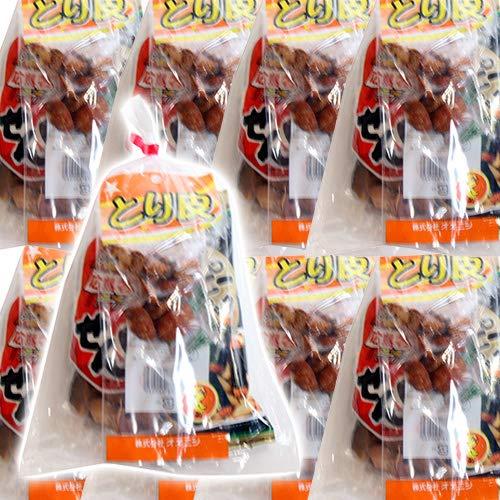 広島名物!とり皮とせんじ肉とおつまみお菓子袋詰め C 20袋セット 詰め合わせ 駄菓子 おかしのマーチ
