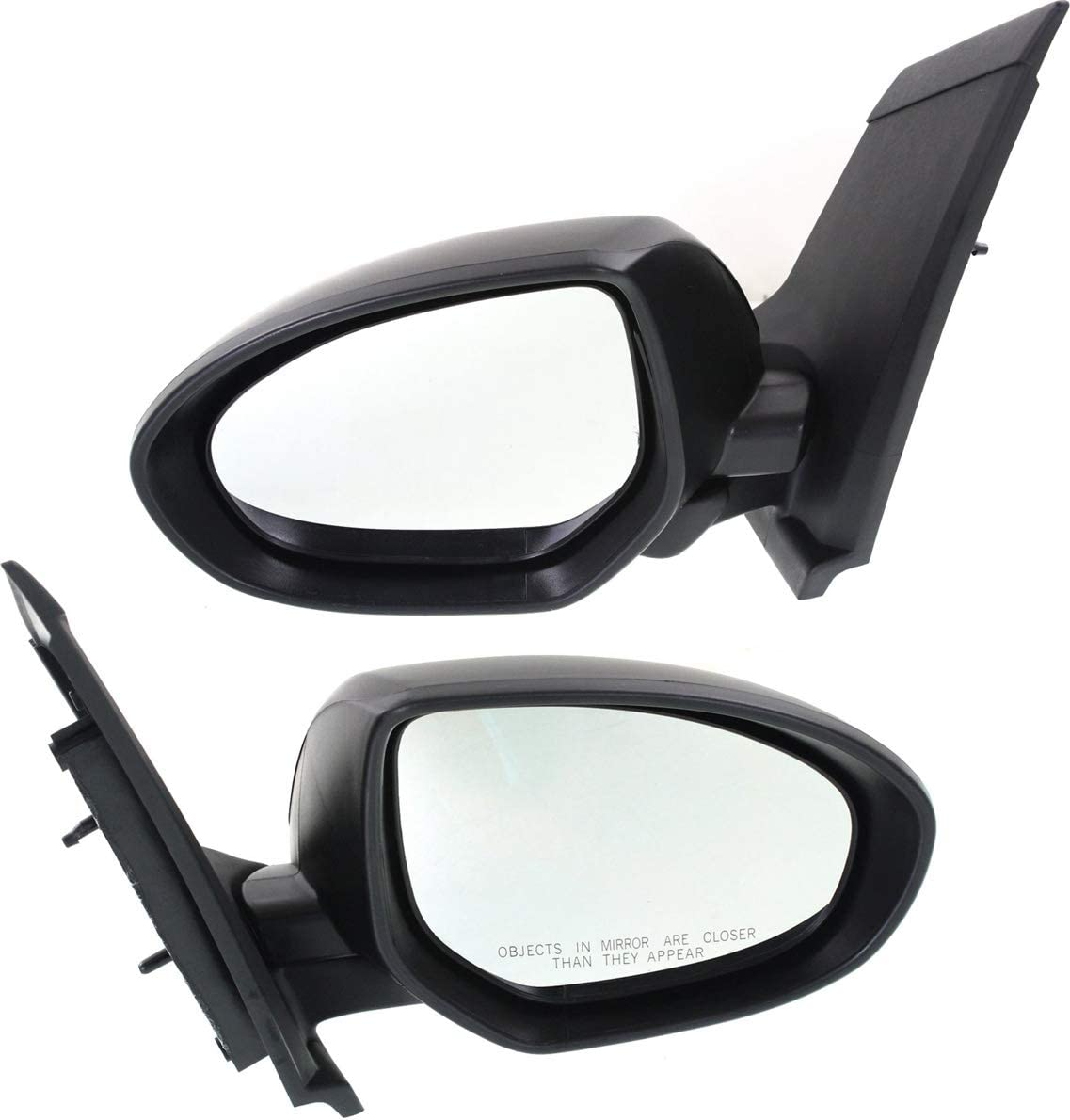 Kool Vue Elegant Power Mirror compatible with 11-14 Ranking TOP6 Mazda 2 Le Right and