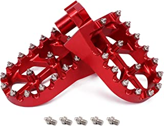 Fußrasten Motorrad Fußrasten für Husqvarna SMS125 SM400R 449 SMR/TC/TE/TXC 450 SMR/TC/TE SM450R SM450RR TXC450 SM510R 510 TC/TE/TXC/SMR 511 SMR/TE/TXC 570 SMR/TC/TE SM610R