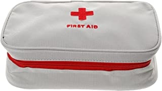 D DOLITY Outdoor Emergency Survival Treatment Case First Aid Kit Bag White
