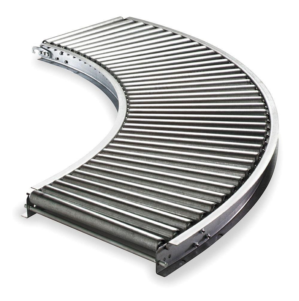 Ashland Conveyor Excellence - Philadelphia Mall 11F90EG15B10 Roller Curve 10B 90