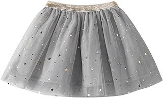 Kobay Fashion Baby Kids Girls Princess Stars Sequins Party Dance Ballet Tutu Skirts0-8T